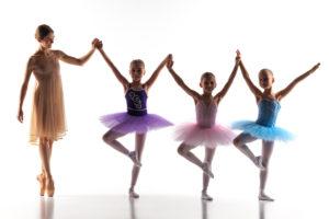 Bailarina de Ballet en curso de verano